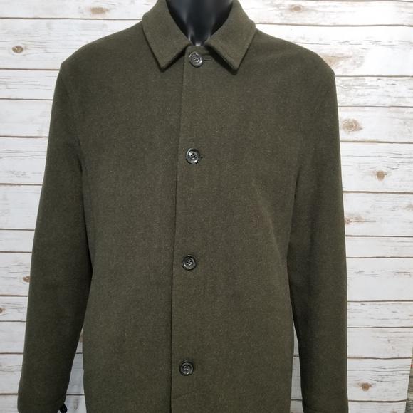 952309393 Banana Republic Wool Cashmere Long Winter Coat L
